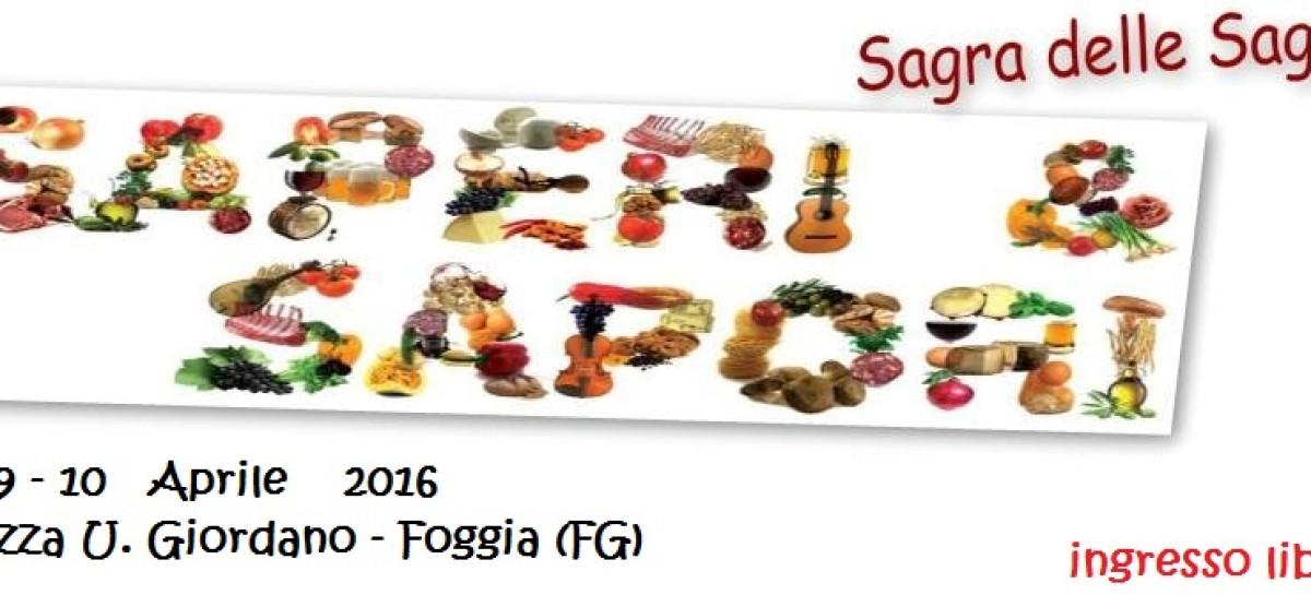 """Foggia, Pro Loco: """"Saperi e Sapori – Sagra delle Sagre"""" – 8, 9 e 10 Aprile"""