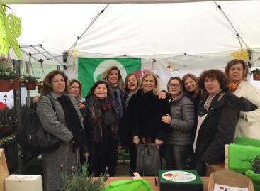 Earth Day, le piantine delle Donne in Campo nel Giardino del benessere