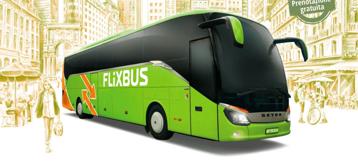 FlixBus a Foggia: avviate corse giornaliere in autobus per Caserta e Roma