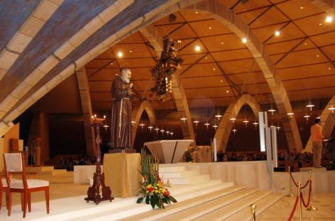 Il Santuario dedicato a Padre Pio