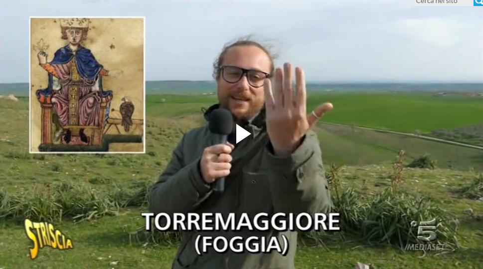 """Pinuccio va a Torremaggiore, non come turista ma come """"muratore"""" -VIDEO"""