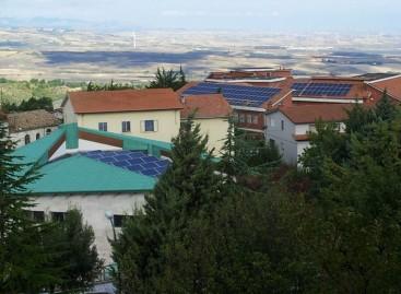 Orsara, la scuola del sole e degli alberi totalmente ecosostenibile