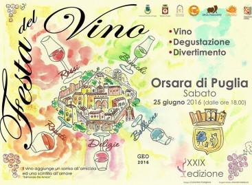 Orsara, tutti i numeri della Festa del Vino