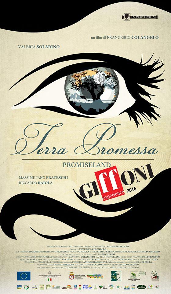 """""""Pugliesi nel Mondo"""": IL CORTOMETRAGGIO PROMISELAND AL GIFFONI FILM FESTIVAL"""