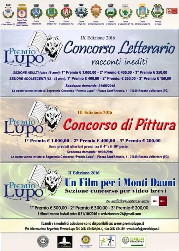 Lucera e Monti Dauni, record di partecipazione al Premio Lupo