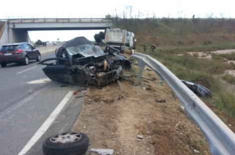 Incidente stradale Foggia – Lucera: Un morto ed un ferito