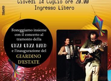 Due anni di Skantinato 58: giovedì si festeggia con il concerto di Unza Unza Band nel nuovo Giardino d'Estate