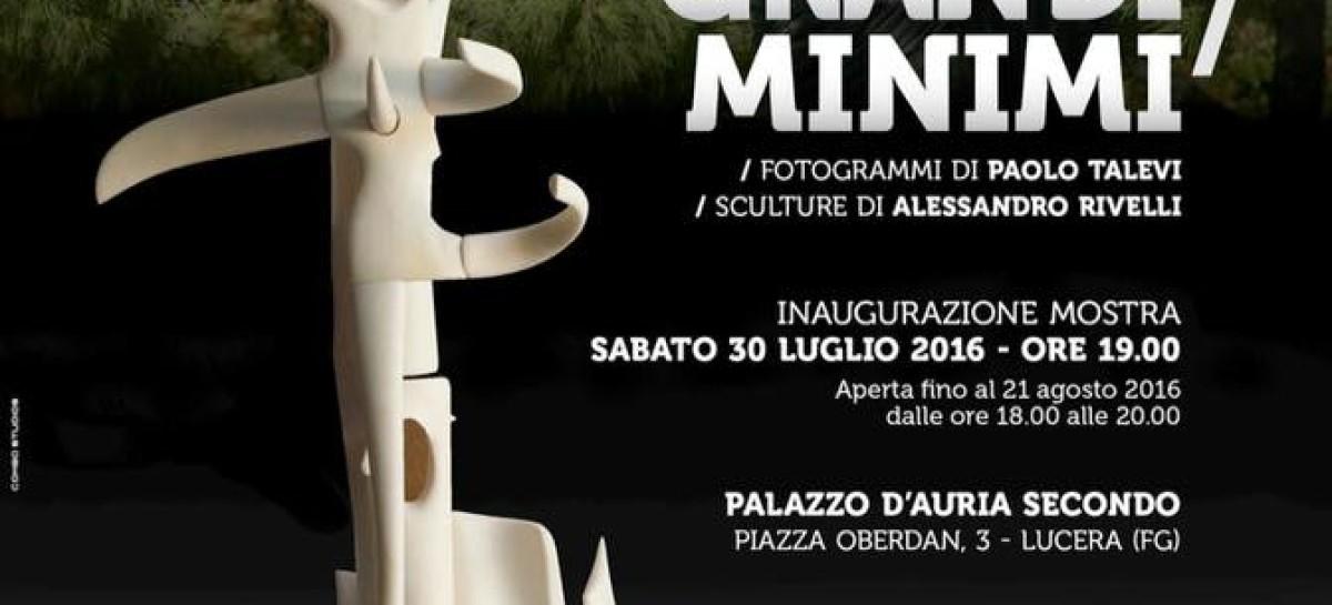 Gli artisti fanesi Talevi e Rivelli protagonisti in Puglia