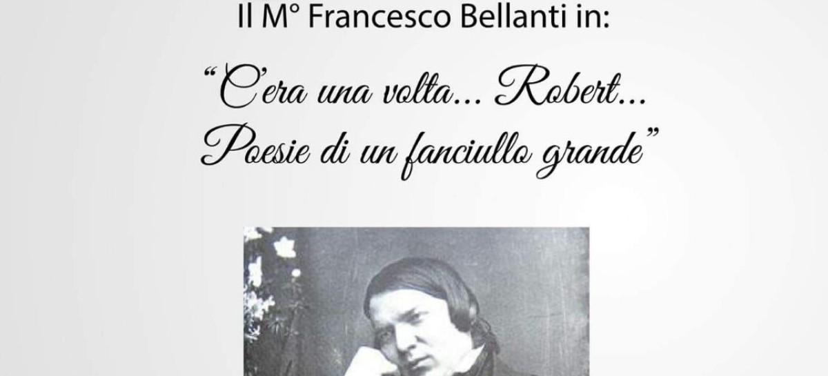 """Domani al Bibliocafè una """"Classica Domenica"""" dedicata alla magia del pianoforte: il Maestro Francesco Bellanti interpreta Robert Schumann"""