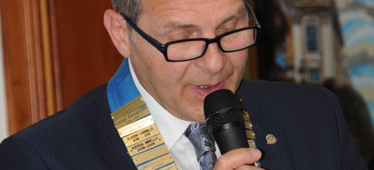 CERIGNOLA: CASIMIRO DILEO È IL NUOVO PRESIDENTE DEL ROTARY CLUB