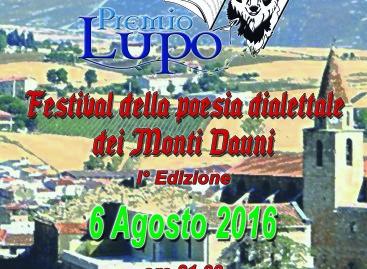 Festival della poesia dialettale dei Monti Dauni, ecco la 1a edizione