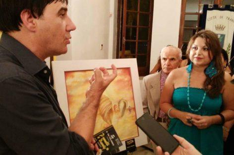 L'arte di Valentina Vurchio a Trani: una poesia cromatica nell'espressione dei suoi sentimenti.