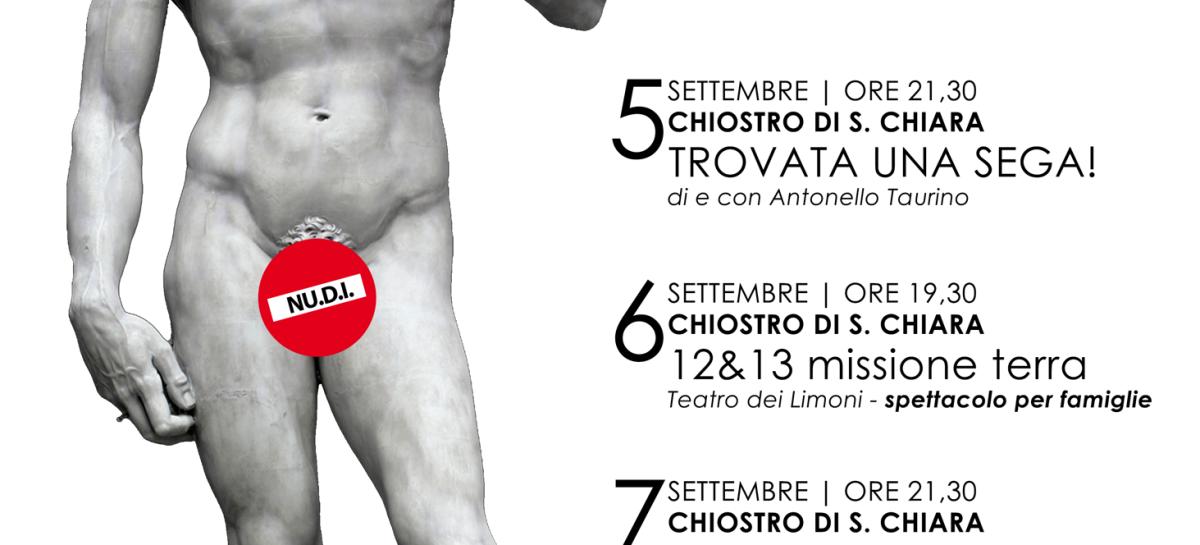 Teatro dei Limoni: Ritorna il Festival NU.D.I. – Dal 5 all'8 Settembre