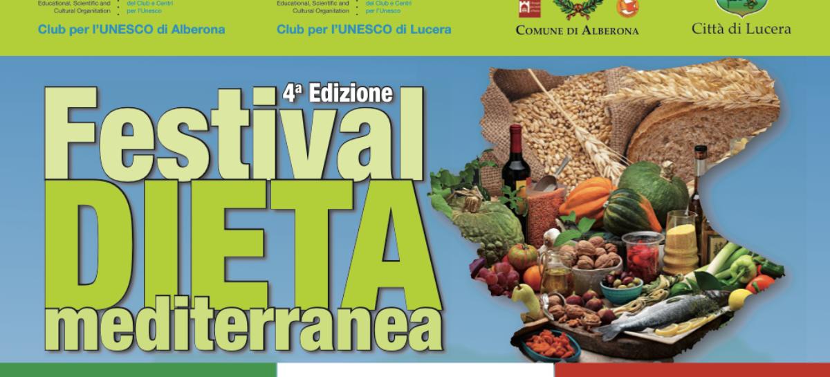 Ecco il Festival: Alberona e Lucera capitali della Dieta Mediterranea
