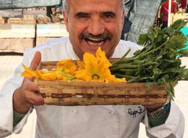 Peppe Zullo in cucina con Contadinner per il Ministro Martina – 9 e 10 Ottobre