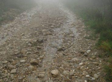 Orsara, straripa il Lavella: chiusa la strada di collegamento alla statale 90