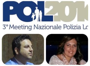 ECCELLENZE DI CAPITANATA AL POL2016 DI COSENZA: CONVEGNO NAZIONALE DELLA POLIZIA LOCALE 13-14 OTTOBRE