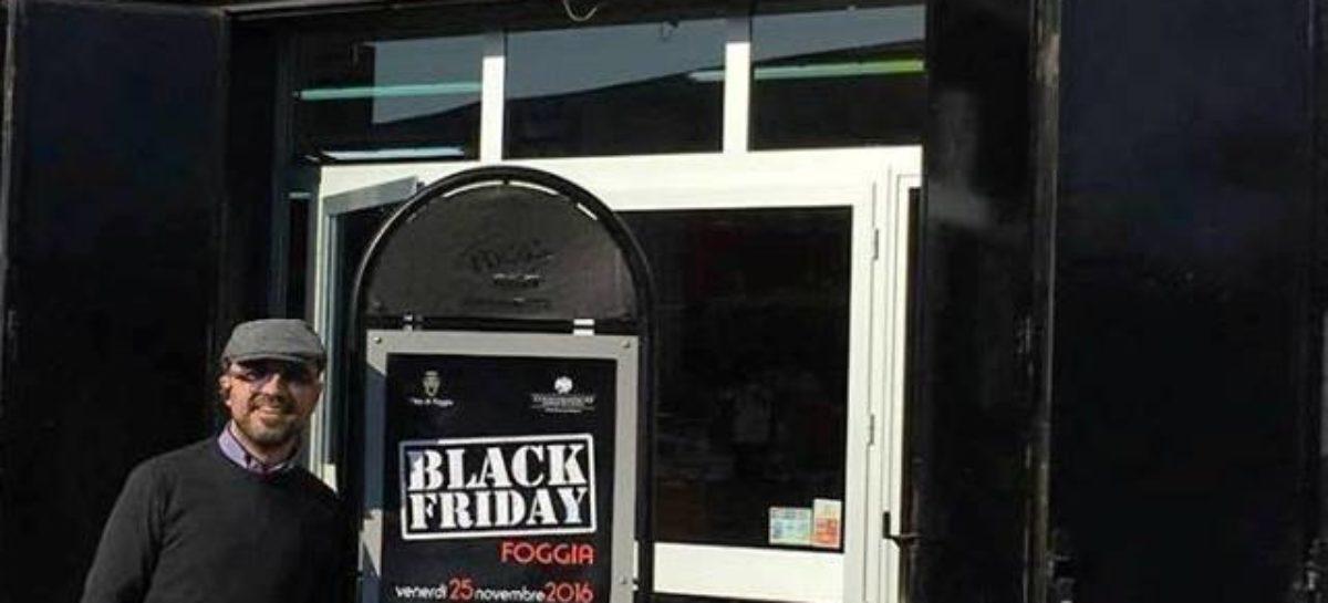 """""""Black friday"""" il 25 novembre arriva a Foggia"""