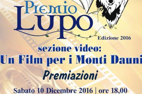 """Monti Dauni, è di Lucera il vincitore del """"Lupo"""" sezione video"""