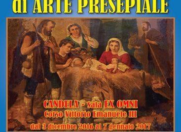 Sant' Agata di Puglia, X edizione arte presepiale – Candela dal 3 dicembre al 7 Gennaio dalle ore 18.00 alle 20.00