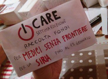 """Troia:  Fino al 13 Gennaio attiva la raccolta fondi di """"I CARE"""" destinata a Medici Senza Frontiere"""