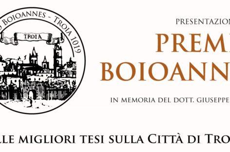 """Troia, pubblicato il bando del Premio """"Boioannes"""": da oggi aperte le candidature"""