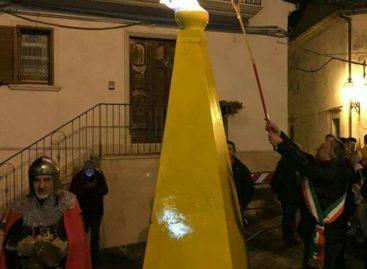 Alberona, il gas metano accende il paese