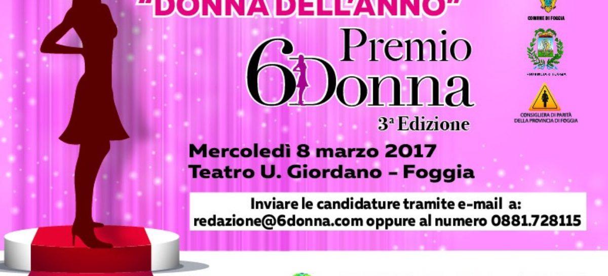 Premio 6Donna: il 26 febbraio stop alle candidature