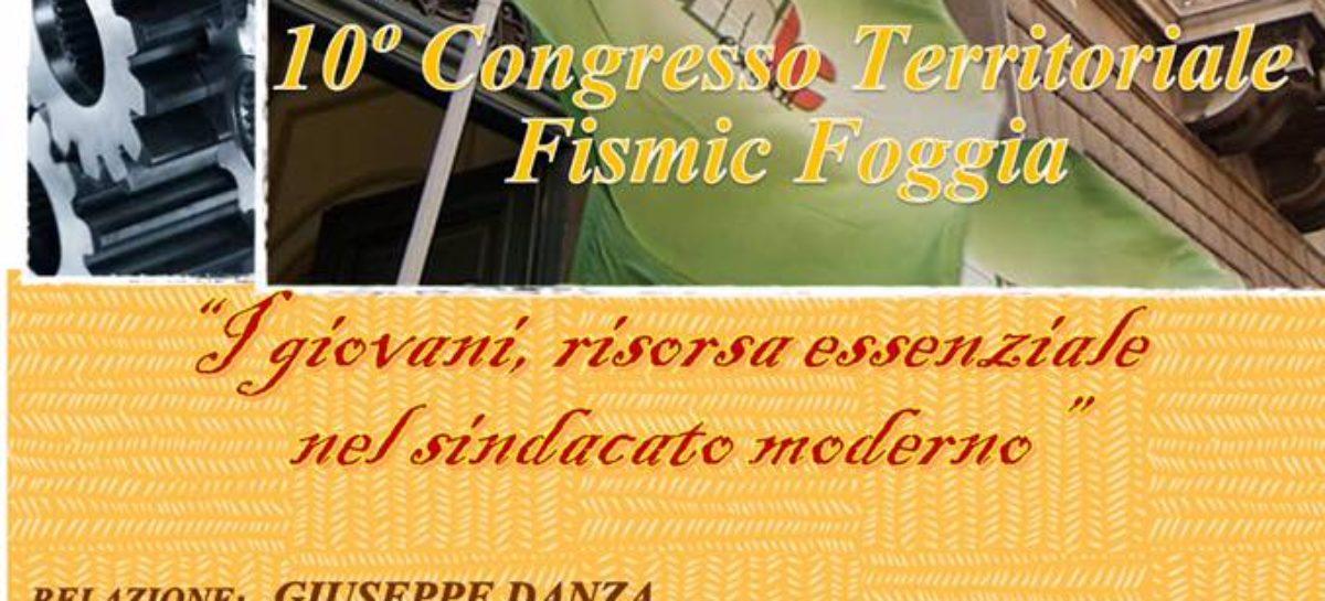 Congresso FISMIC Foggia – Martedì 7 Marzo