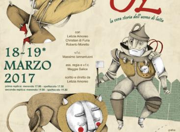"""TeatrodeiLimoni, """"3 volte Oz – la vera storia dell'uomo di Latta"""" – 18 e 19 Marzo"""
