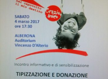 Alberona, l'Admo cerca nuovi donatori