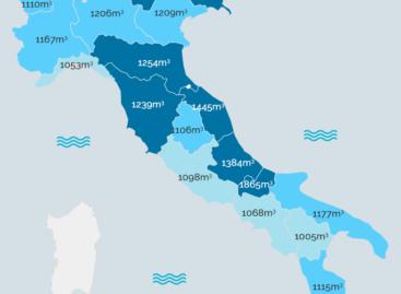 Consumi di gas in Italia: le regioni con i costi più alti