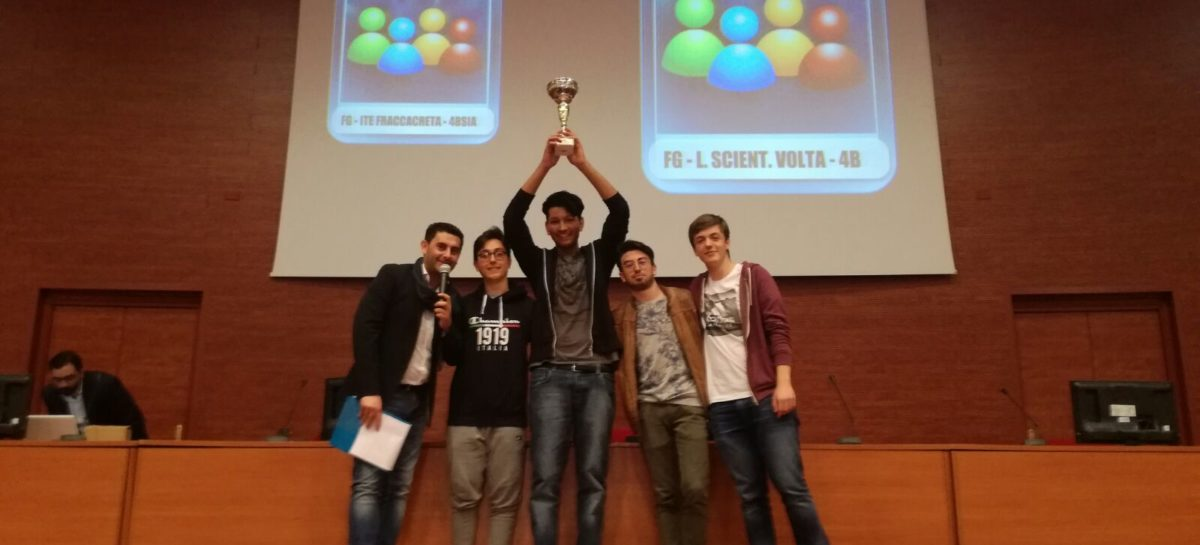 CLASSI QUALIFICATE ALLA FINALE NAZIONALE HIGH SCHOOL GAME 2017