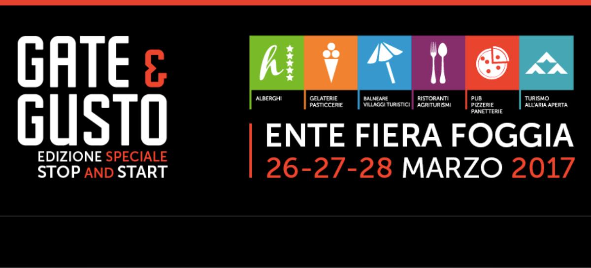 Gate&Gusto, a Foggia la fiera dei professionisti: gusto, turismo e servizi -26 Marzo