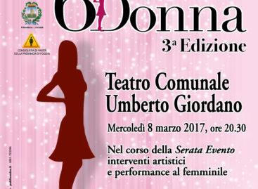 Premio 6Donna: l'8 marzo galà al Teatro Giordano