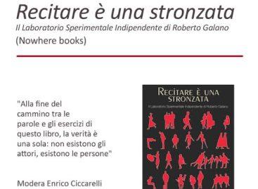 """Teatro dei Limoni: """"Recitare è una stronzata"""" – presentazione del libro – 17 Marzo"""