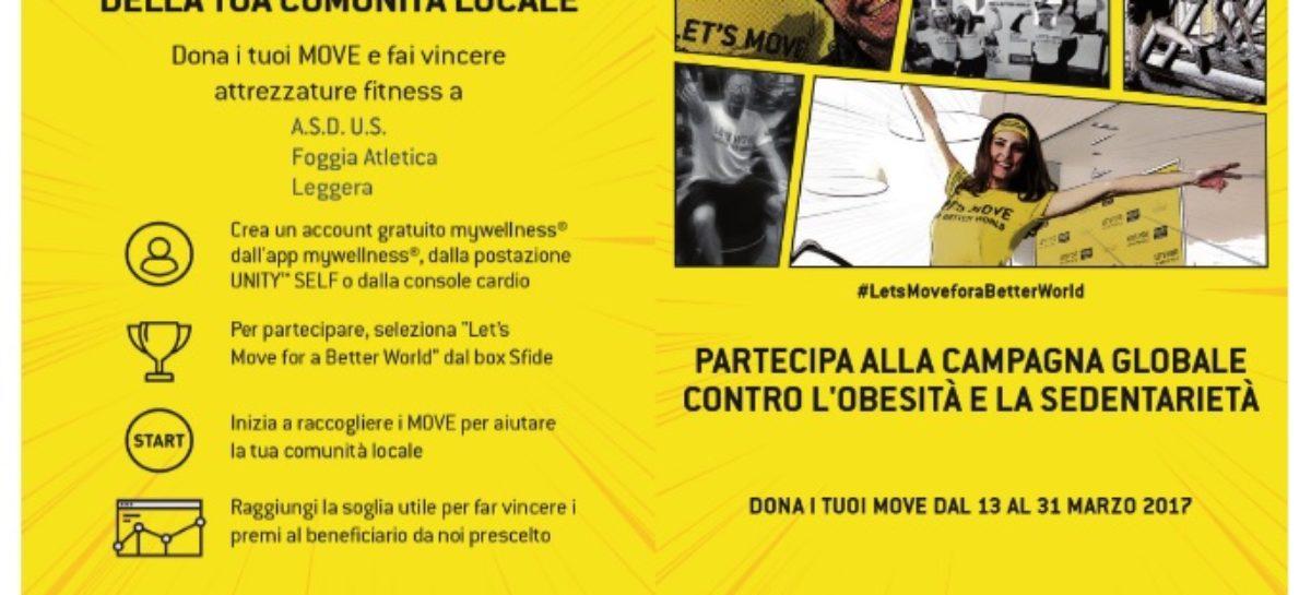 Foggia Let's Move: parte la campagna mondiale contro l'obesità