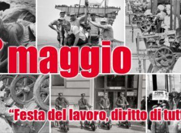 Sinistra Italiana Capitanata aderisce alle manifestazioni del 1° maggio indette dalle delle OO.SS.