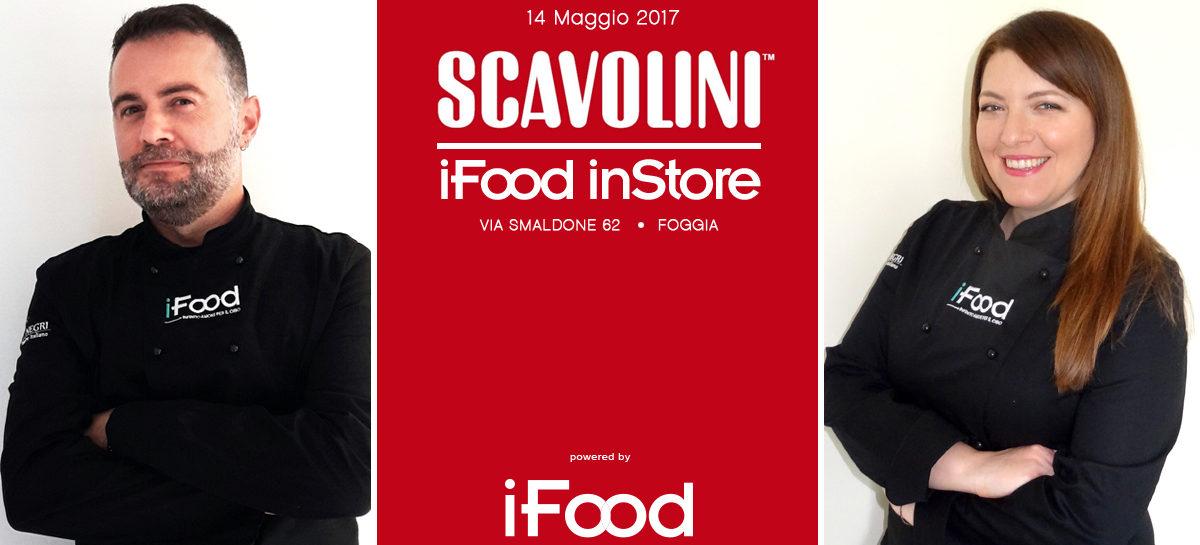 Il tour iFood inStore arriva in Puglia per coinvolgere tutti gli ospiti in un imperdibile show-cooking allo Scavolini Store Foggia con i blogger Luca Sessa e Michela Festa