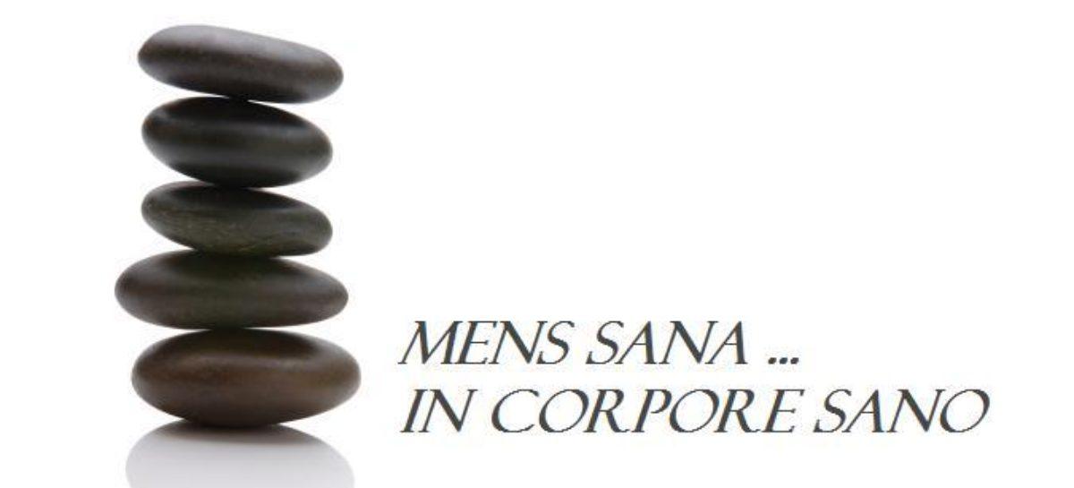 Salvatore Panza, Psicosomatica e sport:  Mens sana in corpore sano