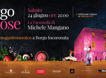 """Foggia, con """"Borgo en rose"""" l'Incoronata mette l'abito da sera"""