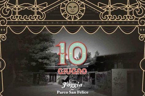"Foggia, ecco ""Carosello"": sabato di festa a Parco San Felice   – 10 Giugno"