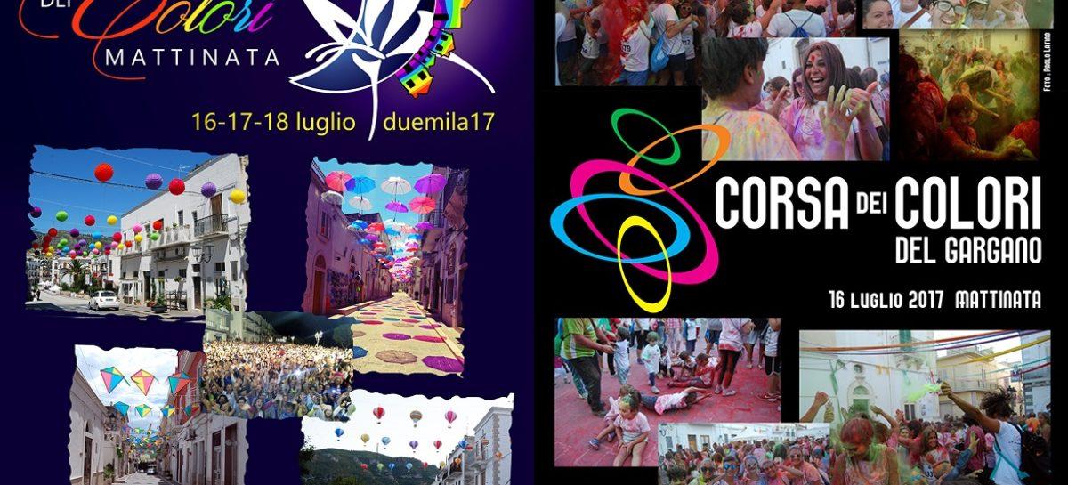 MATTINATA: FESTIVAL DEI COLORI DAL 16 AL 18 LUGLIO 2017