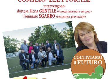 Orsara, Elena Gentile al fianco di Tommaso Lecce – Domenica 4 giugno il comizio