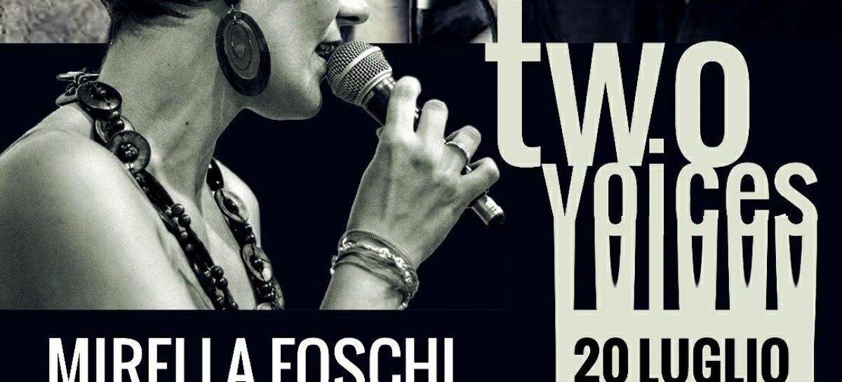 Two Voices giovedì 20 a San Severo , in collaborazione con il Caffè tra le Righe