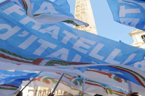 Ottobre sarà il mese dei congressi di Fratelli d'Italia
