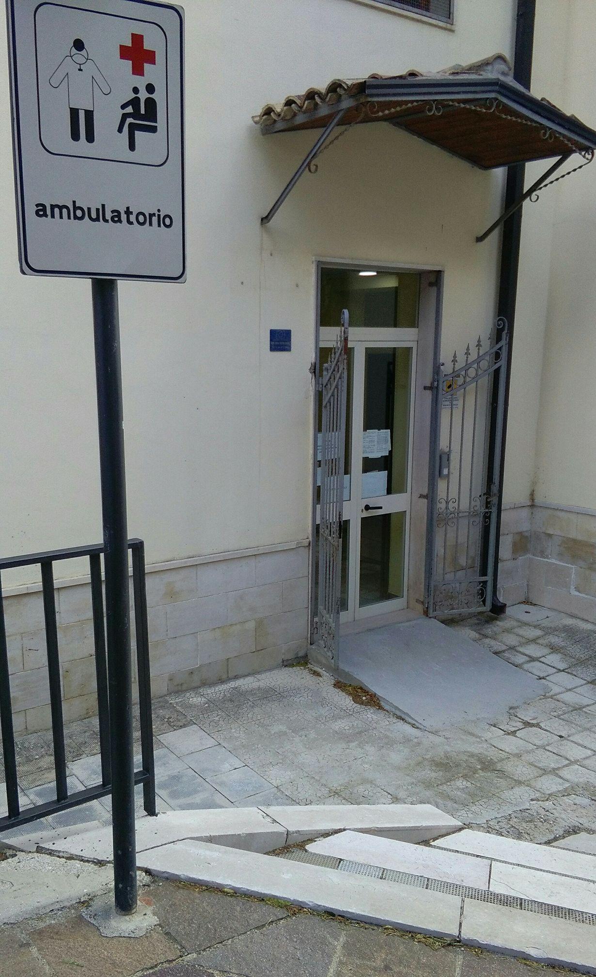 Alberona, lavori al Poliambulatorio