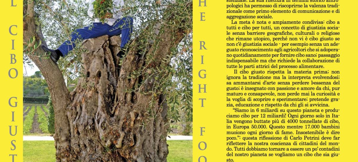 """Il cibo giusto-The right food"": a Orsara (Fg) ospiti da Usa, Germania e Polonia"
