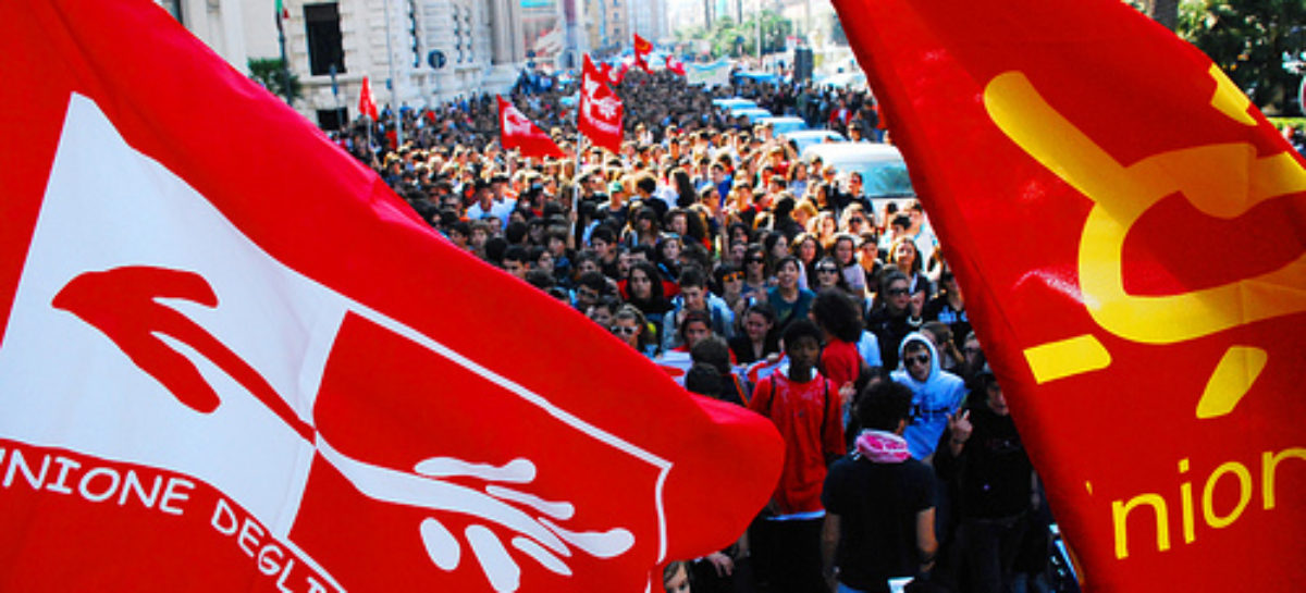 Primo sciopero degli Studenti e delle Studentesse in alternanza