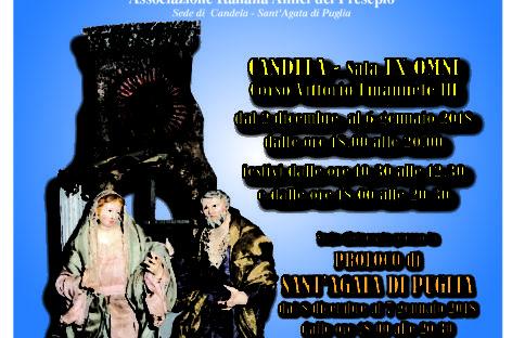 XI mostra di arte presepiale a Candela e Sant'Agata di Puglia